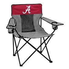 University of Alabama Houndstooth Team Logo Elite Folding Chair