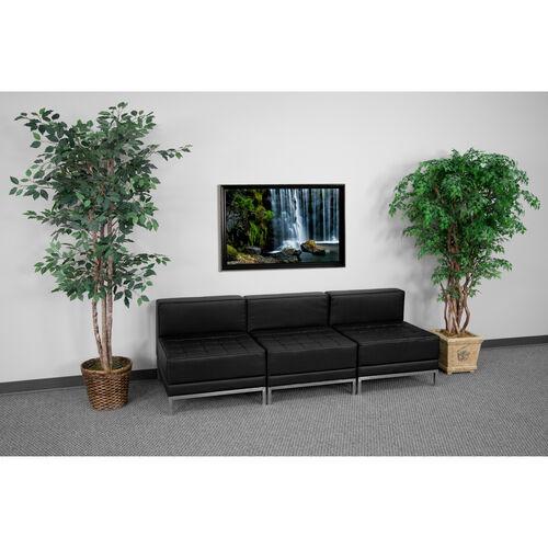 HERCULES Imagination Series LeatherSoft Lounge Set, 3 Pieces
