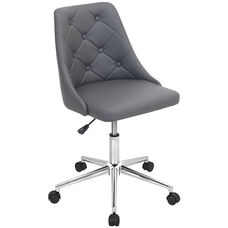 Marche Height Adjustable Office Chair - Grey