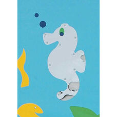 Sea Me Wall Hung Sea Horse Mirror - 24