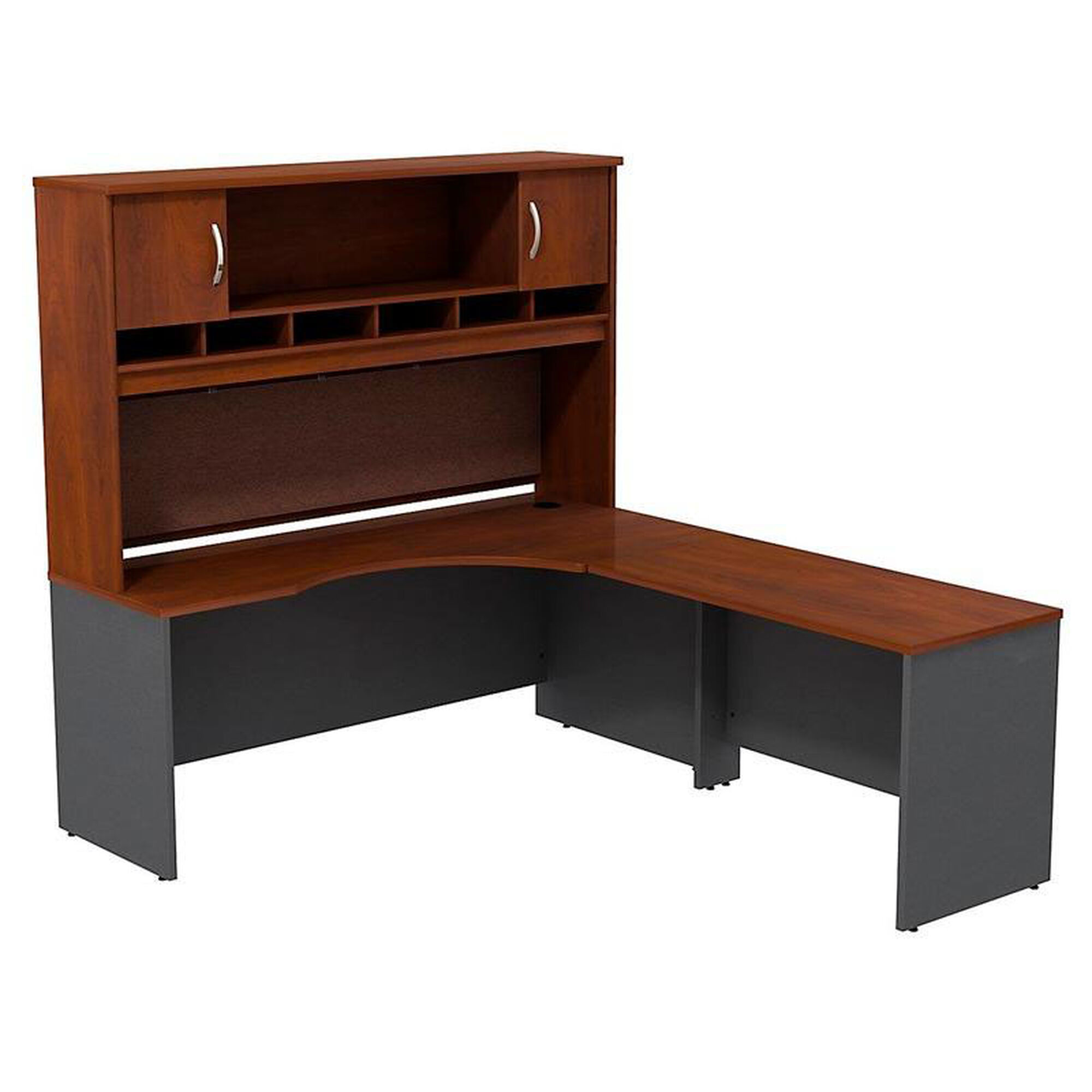 Bush business furniture series c 72 39 39 w right handed for Corporate furniture design