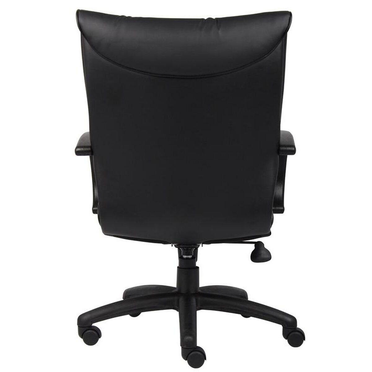 Our Mid Back Leatherplus Executive Chair With Padded Chrome Armrests Black Is On Now
