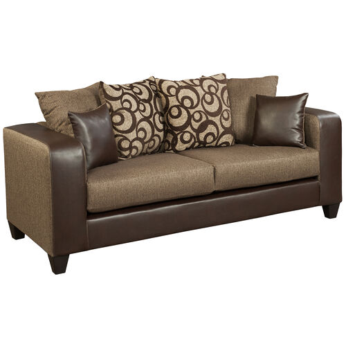 Our Riverstone Object Espresso Chenille Sofa is on sale now.