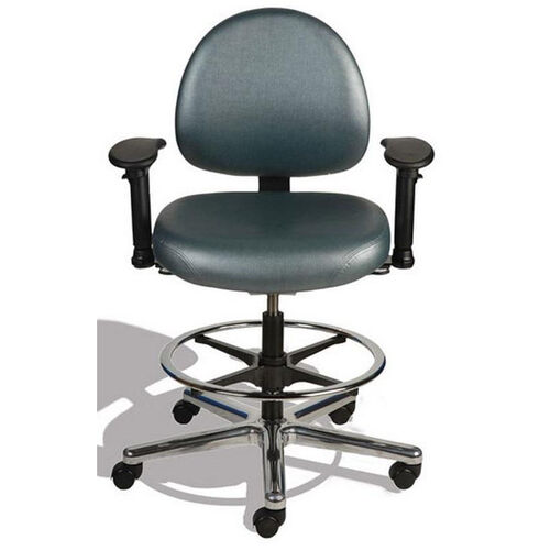 Our Triton Medium Back Mid-Height Drafting Cleanroom ESD Chair with 350 lb. Capacity - 4 Way Control - Black Vinyl is on sale now.