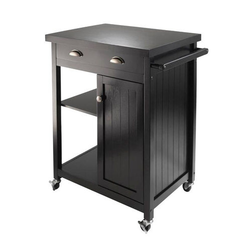 Our Timber Kitchen Cart with Wainscot Panel is on sale now.