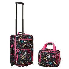 Rockland 2 Pc. Luggage Set - Peace