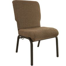 Advantage Jute Church Chair 20.5 in. Wide