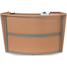 Marque Single-Unit Reception Station - Maple