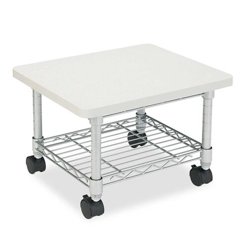 Our Safco® Under desk Printer/Fax Stand - One-Shelf - 19w x 16d x 13-1/2h - Gray is on sale now.