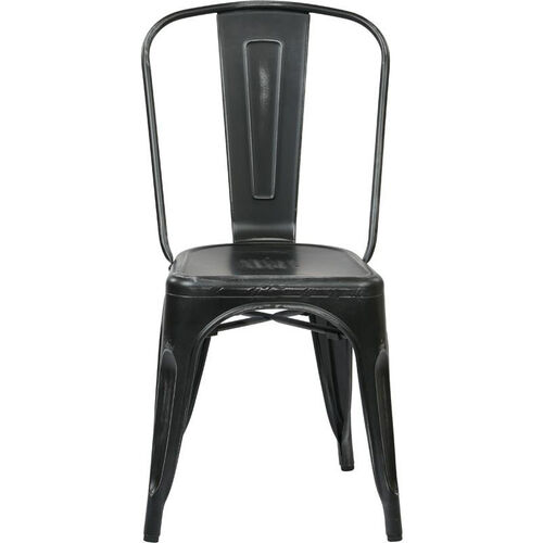 Our OSP Designs Bristow Stackable Armless Metal Chair - Set of 4 - Antique Black is on sale now.