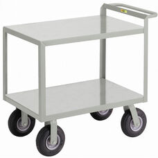 Instrument Cart with 2 Shelves and Hand Guard