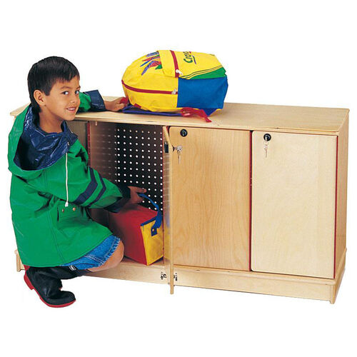 Our Stacking Lockable Lockers - 4 Sections is on sale now.