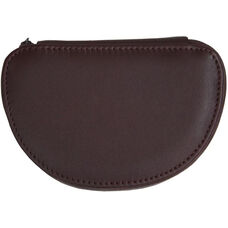 Mini Jewelry Case - Top Grain Nappa Leather - Burgundy