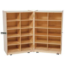 20 Tray Folding Storage Unit - 24-48