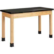 Science Lab Wooden Table with 1