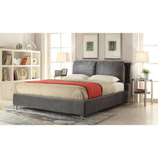 Bywilde Fabric Bed with Removable Cover - Eastern King - Dark Olive Gray