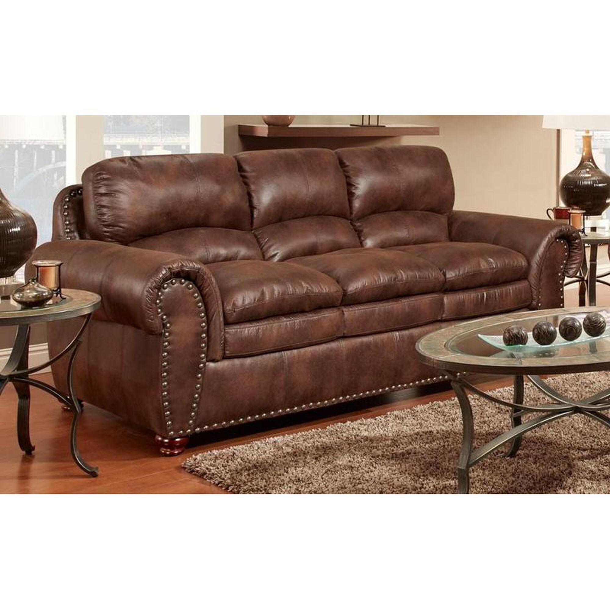Sofa padre espresso 471450 s pe for Home furniture sites
