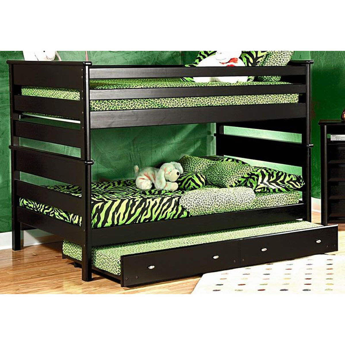 Chelsea home furniture rustic style solid pine bunk bed for Home furniture sites