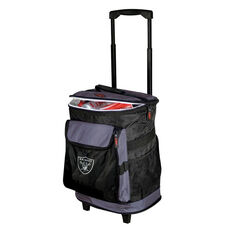 Oakland Raiders Team Logo Rolling Cooler