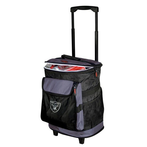Our Oakland Raiders Team Logo Rolling Cooler is on sale now.