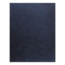 Fellowes® Linen Texture Binding System Covers - 11 x 8-1/2 - Navy - 200/Pack