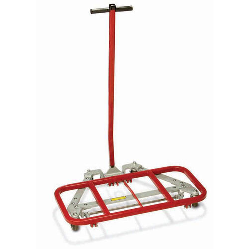 Our Mighty King™ 3500 Series Desk Lift with Red Vinyl Coating - 16