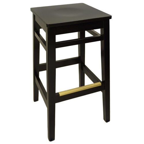 Our Trevor Black Wood Backless Barstool - Wood Seat is on sale now.