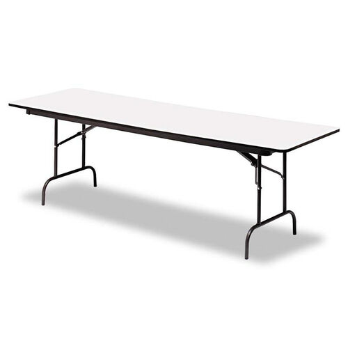Our Iceberg Premium Wood Laminate Folding Table - Rectangular - 96w x 30d x 29h is on sale now.