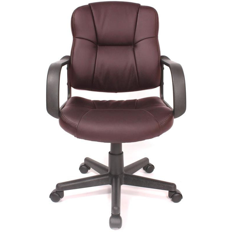 Our Massage Mid Back Leather Task Chair   Brown Is On Sale Now.