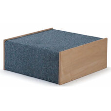 Woodscapes Full-Height Platform in Carpeted Birch Plywood - 20