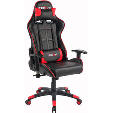 Techni Sport Ergonomic High Back PC Gaming Chair - Red