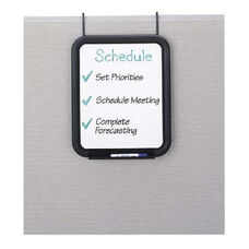 Safco Melamine Panel Dry Erase Markerboard with Tray