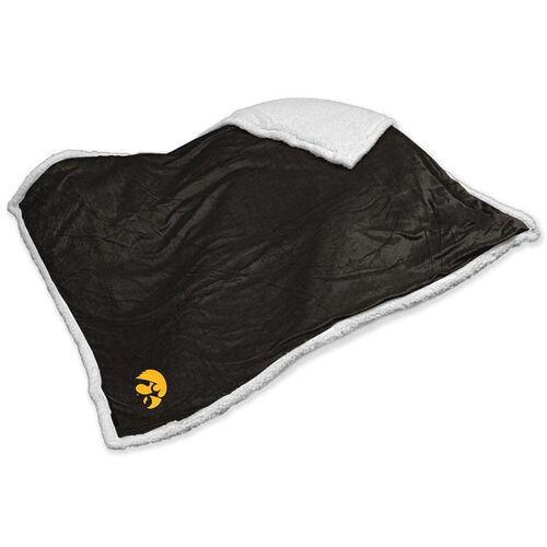 Our University of Iowa Team Logo Sherpa Throw is on sale now.