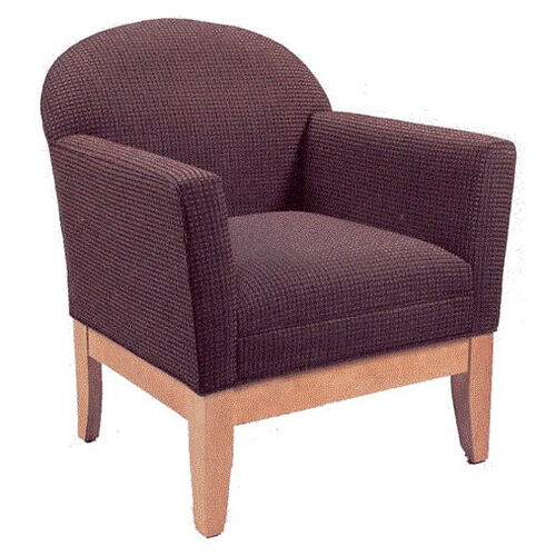 Our 9440 Upholstered Lounge Chair w/ Wood Base - Grade 1 is on sale now.