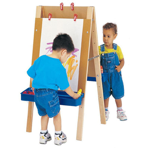 Our Toddler Adjustable Easel is on sale now.