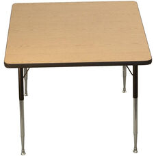 Square Shaped Particleboard Activity Table - 42