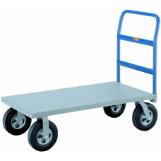 Heavy Duty Platform Truck With Mold-On Rubber Wheels - 36