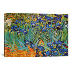 Irises by Vincent van Gogh Gallery Wrapped Canvas Artwork