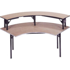 Original Series Crescent Riser with Plywood Top - 15