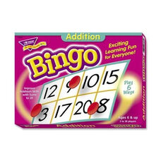 Trend Enterprises Addition Bingo Game -Includes 36 Playing Cards/over 200 Chips