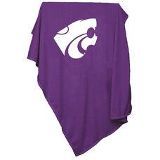 Kansas State University Team Logo Sweatshirt Blanket