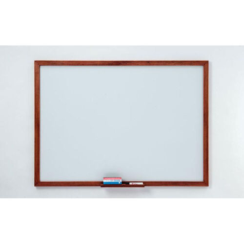 Our 110 Series Markerboard with Wood Frame - 36