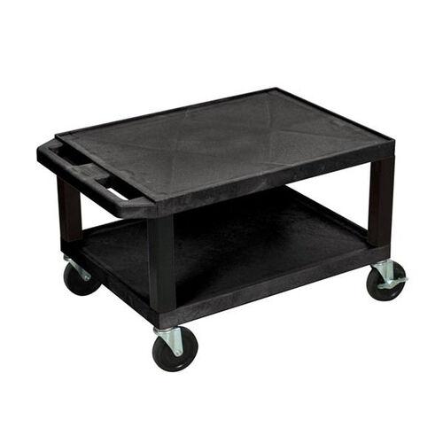 Tuffy Plastic Cart with Black Legs