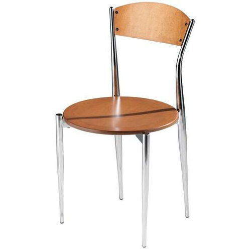 Cafe Twist Maple Ply Wood Back and Ply Wood Seat Chair