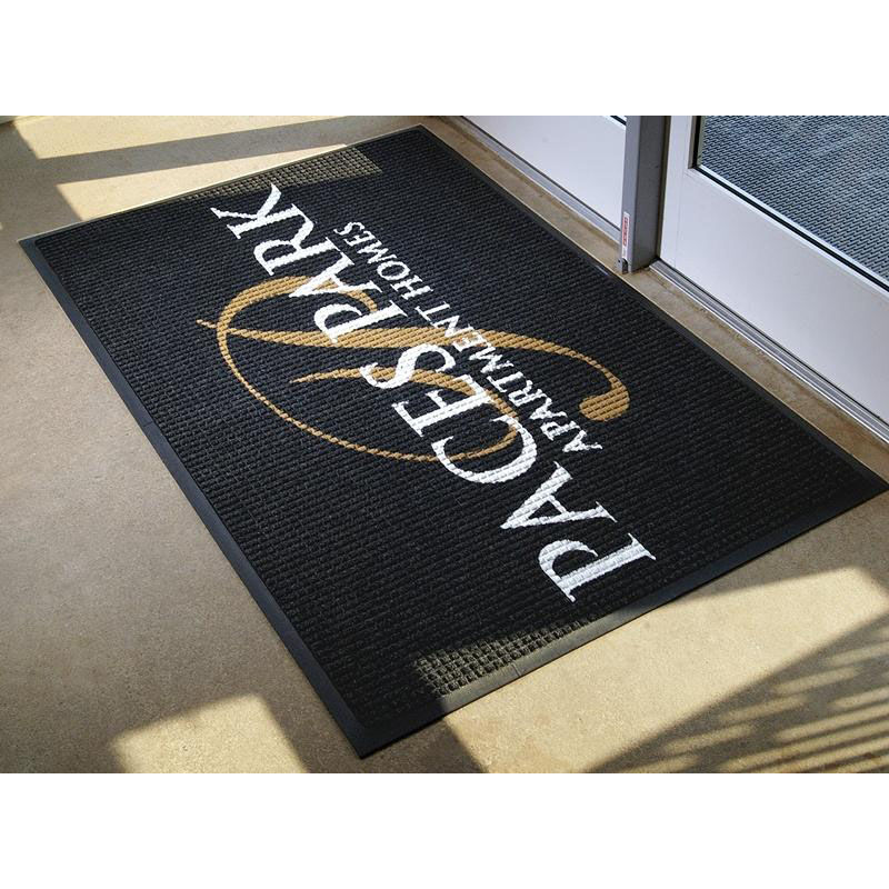 ... Our Waterhog Logo Inlay Floor Mat 4u0027 X 6u0027   Anti Slip Is On ...