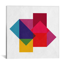 Modern Art- Study of Colors by 5by5collective Gallery Wrapped Canvas Artwork