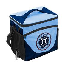 NYC Futbol Club Team Logo 24 Can Cooler