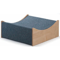 Woodscapes Curve Down-Valley Platform in Carpeted Birch Plywood - 20