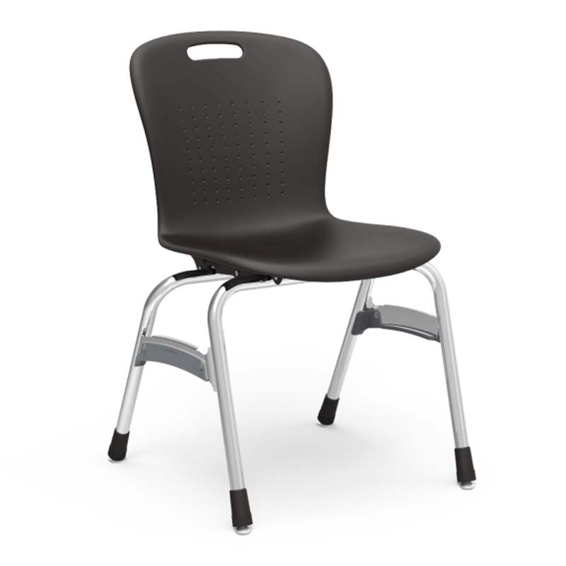... Our Quick Ship Sage Series Stack Chair With 18u0027u0027H Polypropylene Seat  And Chrome