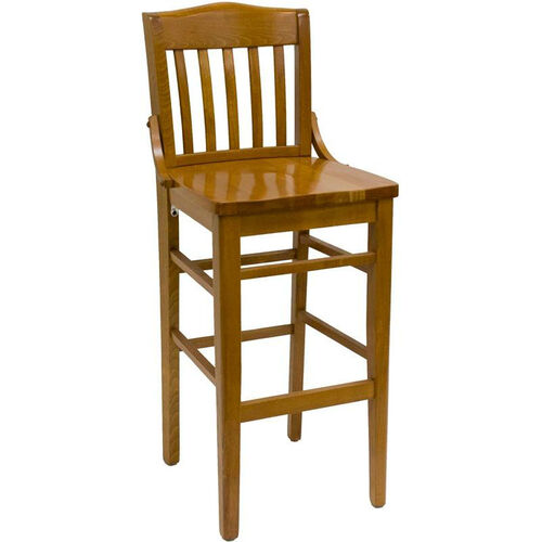 Our Vertical Slat Back Solid Wood Barstool is on sale now.